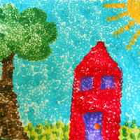 Day #229 - Pointillism for Kids