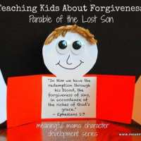 Teaching Kids Forgiveness - Parable of the Lost Son Craft