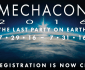 Pre-registration for MechaCon 2016 is now closed