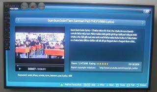 UA40D5900VR Samsung Smart TV YouTube Content Play