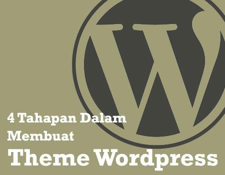 4 Tahapan Membuat Theme WordPress