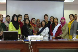 Three-day training workshop for female journalists in Islamabad