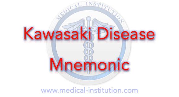Kawasaki Disease Mnemonic Best Medical Mnemonics