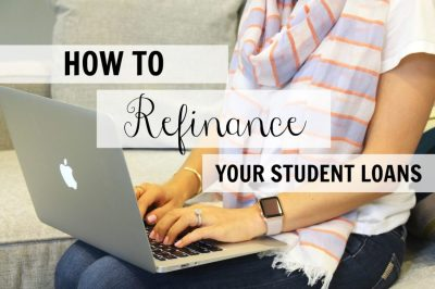 How To Refinance Your Student Loans - Medicine & Manicures