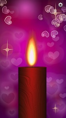 romantic candle 2