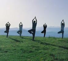 Assisi Yoga hillside