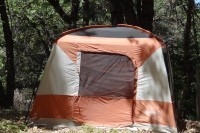 Roomy tent, sleeps 2 comfortably