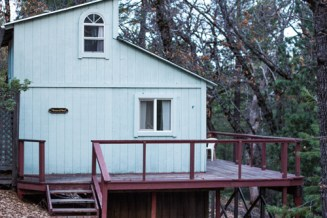 Peace of Mind Cabin at the Ananda Meditation Retreat