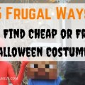 5 Frugal Ways to Find Cheap or Free Halloween Costumes title