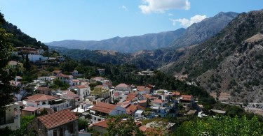 Argyroupoli village and its famous springs
