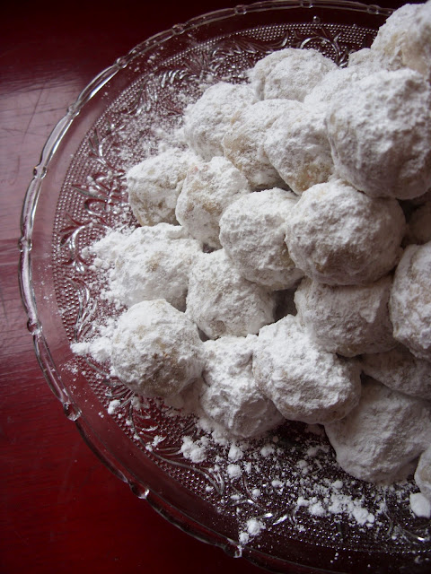 Peppermint Russian Tea Cakes