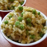 The Betty Crocker Project : Vegan Risotto alla Milanese with Peas