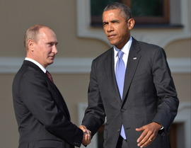 オバマとプーチン