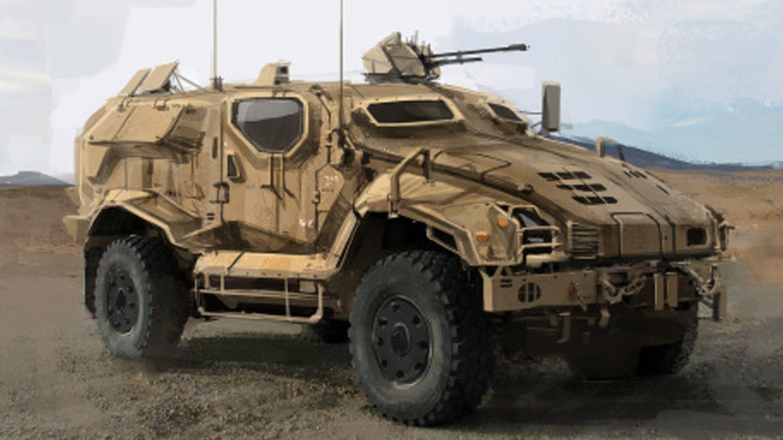 Military Vehicle 36 Mega Ev