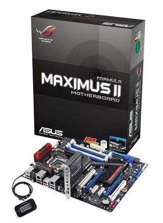 ASUS Unleashes the Latest Intel P45 Chipset Based ROG Motherboard   asusmaximus1