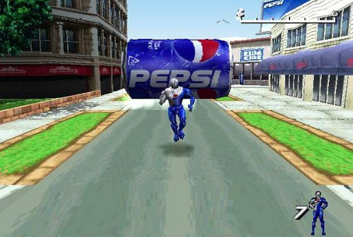 Interesting Video Games Never Released in North America   pepsiman