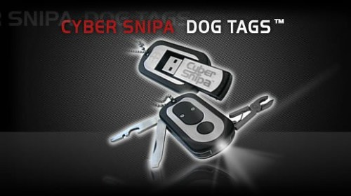 MEGATech Showcase: Flash Drive Madness   dog tags 500x280