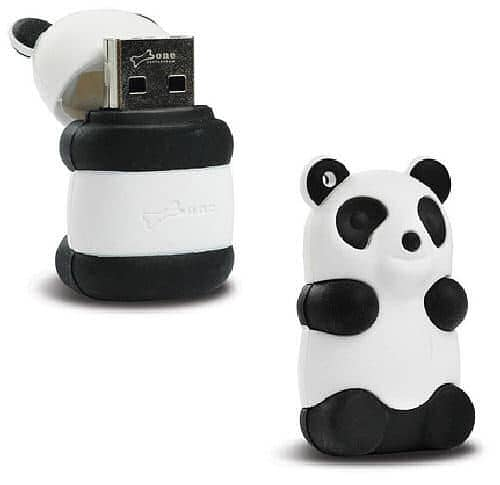 MEGATech Showcase: Flash Drive Madness   panda usb flash drive1