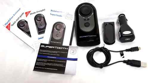 MEGATech Reviews: Supertooth HD Bluetooth Car Speakerphone   supertoothhd 3 500x281