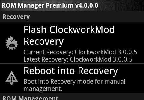 MEGATech Guide: What to do With Your Rooted Phone   clockwork1