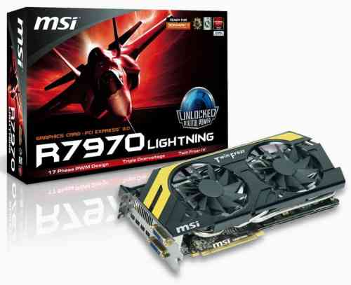 MSI Announces Next Generation R7970 Lightning Graphics Card   msi r7970 lightning 04 500x407