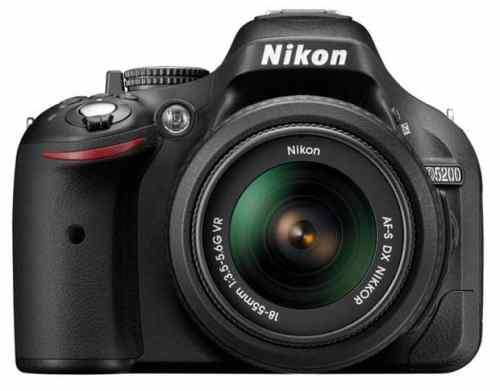 Nikon Announces 24MP D5200 DSLR   d5200b 500x391