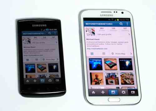 MEGATech Reviews   Samsung Galaxy Note II Android Superphone   galaxynote2 6 500x356