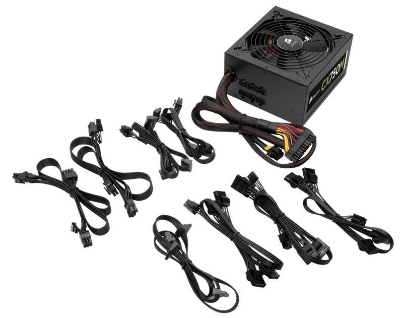 Corsair Reveals Affordable Modular PSU Series   Corsair CX Series 4