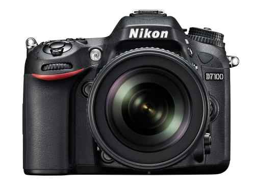 Nikon Introduces D7100 24MP DSLR   D7100 18 105 front.high  500x375