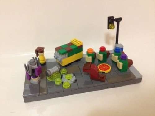 MEGATech Showcase: Theres a LEGO For Everyone   Minimalist TMNT 500x375