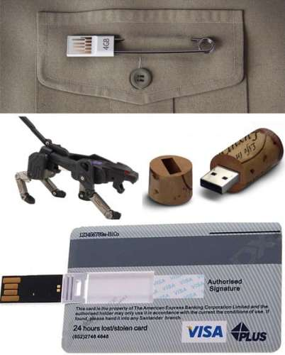 MEGATech Showcase: Its Time For More Flash Drives   unusual usb drives 402x500
