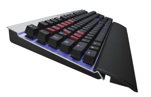 Corsair Upgrades Vengeance Line with K70 Full Mechanical Keyboard   Corsair K70 4 500x321
