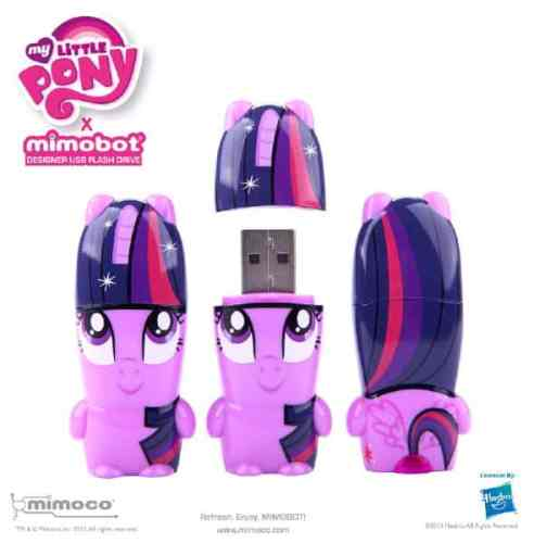 The MY LITTLE PONY: Friendship is Magic X MIMOBOT Flash Drive Collection   MLP TwilightSparkle MIMOBOT 3up90a929 492x500