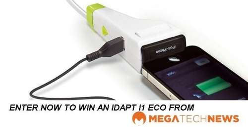 CLOSED! MEGATech Weekly Giveaway 1 of 3: Win an IDAPT i1 Eco Universal Charger   idapt contest week1 500x265