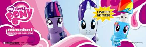 The MY LITTLE PONY: Friendship is Magic X MIMOBOT Flash Drive Collection