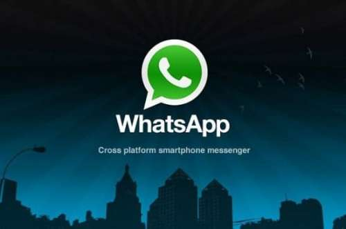 WhatsApp for BlackBerry 10 Arrives at BlackBerry World   whatsapp 500x332
