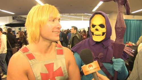 MEGATech Videos: The 2013 Vancouver Fan Expo   He Man Skeletor.Still001 500x281