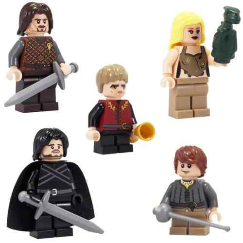 MEGATech Showcase: Dog Days of LEGO   Game of Thrones LEGO Minifigures 500x500