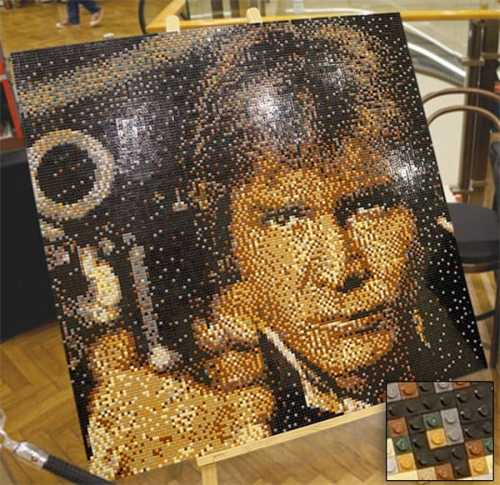 MEGATech Showcase: Dog Days of LEGO   han solo lego portrait 500x485