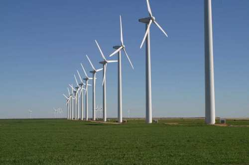 Google Scoops Up Texas Wind Farm in Pursuit of Going Green   GreenMountainWindFarm Fluvanna 2004 500x332