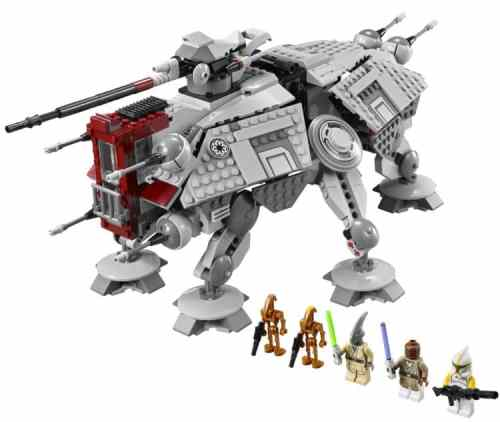 MEGATech Showcase: LEGO Creations and Playsets   LEGO Star Wars AT TE 500x422