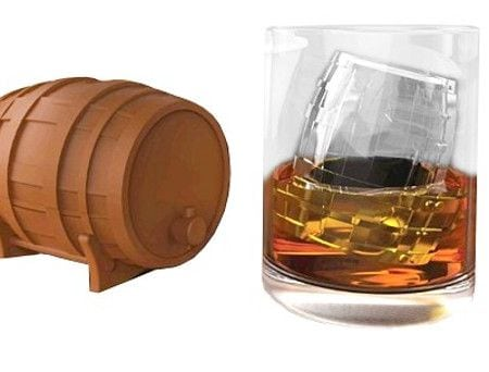 MEGATech Showcase: Chill Out With Creative Ice   whiskey barrel ice tray