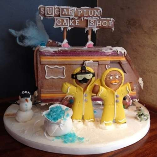 MEGATech Showcase: Last Minute Christmas Ideas   breaking bad gingerbread 620x620 500x500