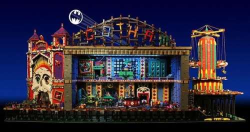 MEGATech Showcase: Amazing LEGO Creations   joker funhouse 1 500x264
