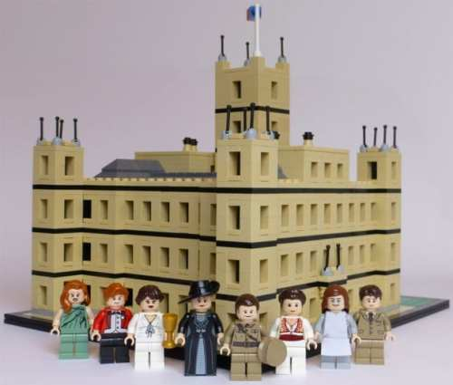 MEGATech Showcase: Amazing LEGO Creations   lego downton abbey 1 620x527 500x425