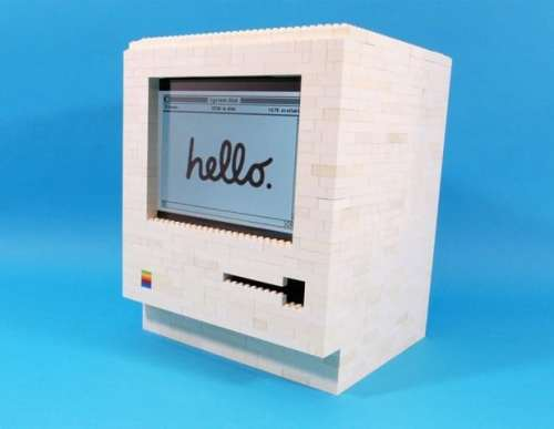 MEGATech Showcase: Amazing LEGO Creations   lego macintosh 620x481 500x387