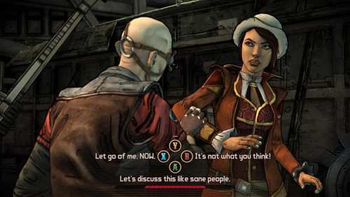 First Tales from the Borderlands Screenshots from Telltale Games   Tales FionaDialogue 500x281