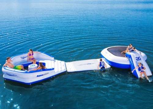 MEGATech Showcase: Summertime Beat the Heat Gear   Malibu Aquapark Waterskiing Towables 500x359