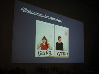 Laura und Katrin