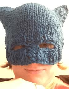 stricken: Superhelden-Mütze